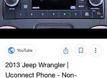 original Jeep Wrangler radio system 2015