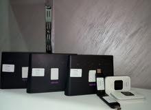 راوترات (ثابت ومتنقل) وفلاشات هواوي فور جي مفتوحة عكل الشبكات