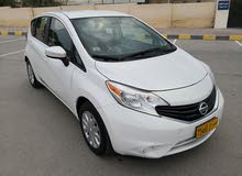 White Nissan Versa 2015 for sale