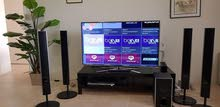 "55"" Samsung Smart TV + Sony Home Cinema + MI BOX +Table TV for sale"