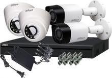 تركيب منظومة كاميرات المراقبة Hikvision