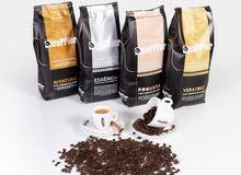 يوجد لدينا اجود أنواع حبوب القهوة(ROBUSTA)