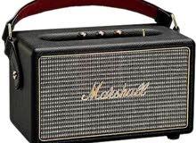 Marshall KILBURN BLACK Portable Bluetooth Speaker for MP3 Players - Black