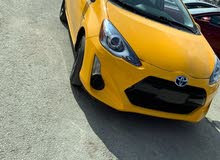 Automatic Yellow Toyota 2015 for sale