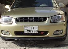 Manual Gold Hyundai 1999 for sale