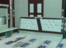 غرف نوم جديده ألوان مختلفه  جاهزه للتركيب مباشرة للزبون