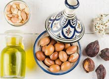 زيت ارجان ممتاز مغربي للشعر والبشرة