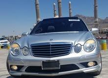 مرسديس  E350 AMG بانوراما بدون صدمه 2009