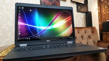 Dell Workstation i5, 6th Gen. HQ Processor 256GB SSD 15.6 FHD Touch Laptop لمس