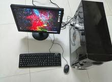 كمبيوتر مكتبي نظيف ماشاء الله تبارك