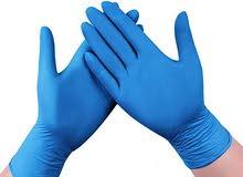 جونتيات طبية نيتريل للبيع nitrile powder free gloves wholesale