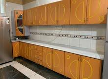 مطبخ خشب MDF نظيف