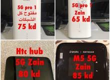 راوترات 4G و 5G مستعمله بحاله ممتازة