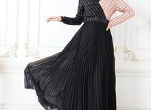 فستان شيفون على ترتر جمله فقط