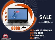 HP ELITEBOOK FOLIO 9470M برسيسور :CORE I7 جيل رابع رمات : 8 جيجا DDR3