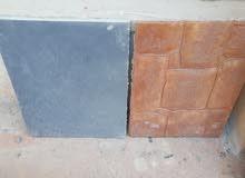 باطون مطبع وملون Printed and colored concrete
