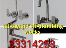 all type plumber works and building mantinace all