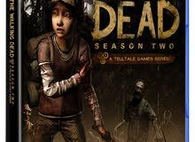 لعبة the walking dead الموسم الثاني ( الإصدار العالمي)  ps4