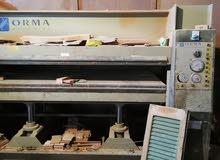 ماكينات ورشة نجارة ايطالية للبيع
