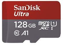 SanDisk 128GB memory card