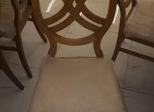 طاولة طعام خشب نوع اول
