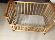 سرير أطفال مزدوج مستورد وفاخر