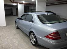 Automatic Blue Mercedes Benz 2001 for sale