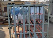 صناديق قوارير مياه 5 غالون