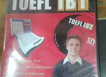 سي دي لتعليم اللغة الانجليزية التوفل TOEFL