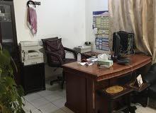 للبيع مكتب غرفتين وصاله ومجبخ وحمام في خيطان