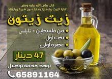 للبيع زيت زيتون فلسطيني من نابلس
