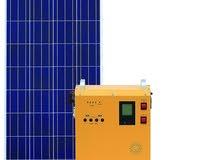 نظام طاقة شمسية متكامل 300W مع التوصيل و الضمان