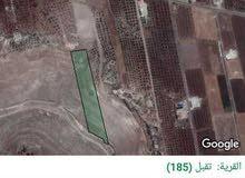 قطعة ارض مطلة ومرتفعة على قرى بقرب طريق اربد الدائري