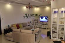 شقة شبه ارضية طابقية مكونة من 6 غرف نوم للبيع في السابع مساحة البناء 260 م مساحات خارجية  250 م