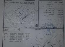 للبيع ارض سكنية ولاية نخل طوي القصفة ..مستوية