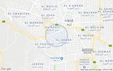 شقة للبيع /اربد / حي الأبرار / شمال دوار المغسلة (دوار زبدة القديم)