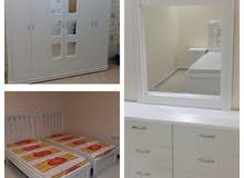 غرف نوم نفرين مع التركيب والتوصيل جيزان1800