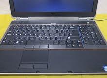 DELL latitude 6520 CORE I5 كاش 4 ميجا /رمات :4جيجا DDR3 // هارد : 500