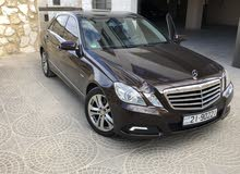 Mercedes Benz E 200 car for sale 2010 in Amman city