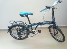 دراجة قابلة للطي سهلة الحمل ولا اتأخذ مساحة في السيارة او البيت
