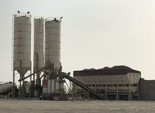 مصنع خرسانة جاهزة وكسارة للبيع