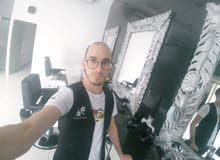 حلاق مغربي ابحث عن عمل ومع نقل كفالة