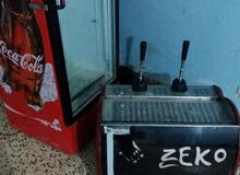 ماكينة كافى وثلاجة للبيع