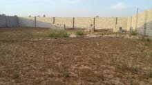 قطعة ارض مسيجة للبيع بمنطقة طريق نادي الفروسية الغيران/ مصراته (772) متر