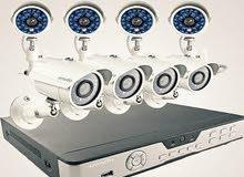 كاميرات_مراقبه و اجهزة بصمه وعقود الصيانة والتشغيل