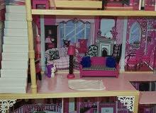 بيت باربي خشب