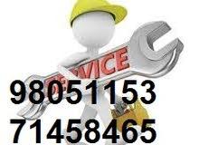 تركيب و صيانة المباني والمنزل مكيفات كهربائية ، سباك ، دهانات ، بسعر رخيص