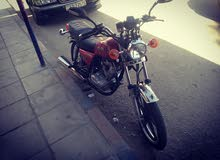 دراجة نارية بحال الوكاله