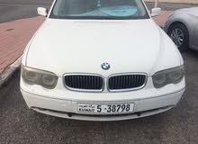 Gasoline Fuel/Power   BMW 730 2004