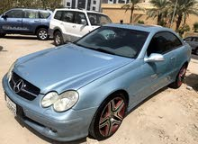 Mercedes Benz CLK 2003 For sale - Turquoise color